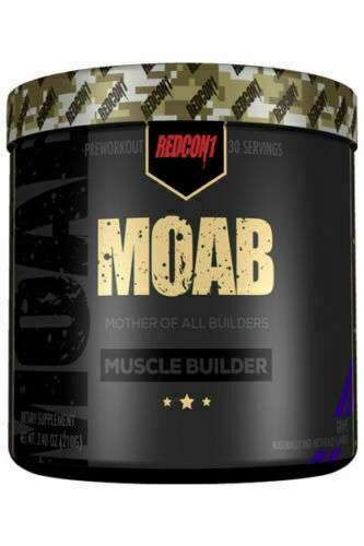 Redcon1 MOAB Muscle Builder 30 Servings + FREE SHAKER - ALL FLAVORS FREE SHIP  1