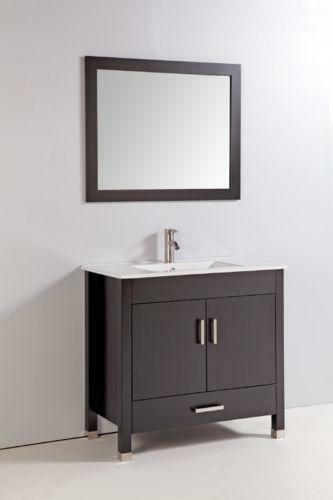 Ebay Bathroom Vanity With Sink: 36 Inch Bathroom Vanity