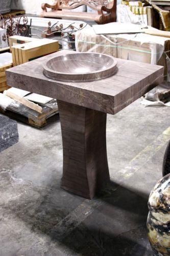 Marble Pedestal Sink Ebay