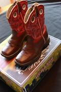 Girls Brown Cowboy Boots