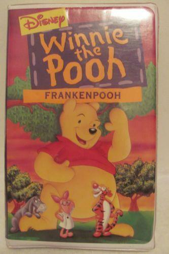 winnie the pooh frankenpooh vhs ebay. Black Bedroom Furniture Sets. Home Design Ideas