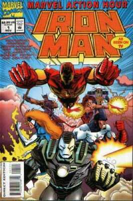 Marvel Action Hour featuring Iron Man #1 in mint condition. Marvel comics