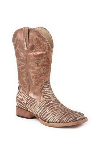 Womens Square Toe Cowboy Boots Ebay