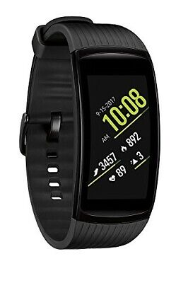 Samsung Gear Fit2 Pro Smart Fitness Watch (Large), Liquid Black SM-R365NZKAXAR