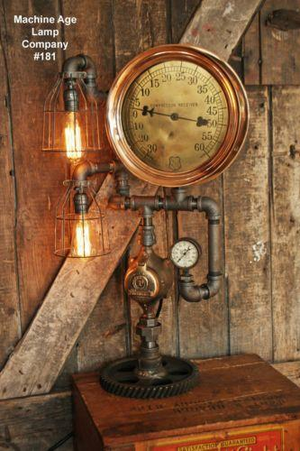 Antique Steam Gauge Ebay