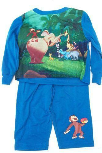 Curious George Pajamas Clothing Shoes Amp Accessories Ebay