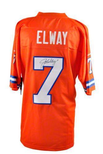 John Elway Signed Jersey Ebay