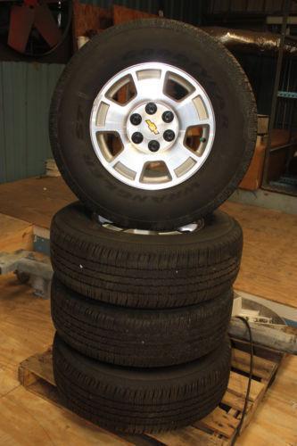 18 Inch Tires >> Used Silverado Wheels | eBay