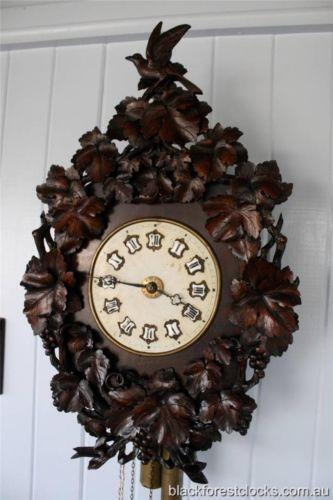 Antique Black Forest Cuckoo Clock Ebay