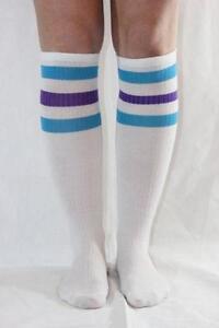 87fec8292c3 Knee High Striped Tube Socks