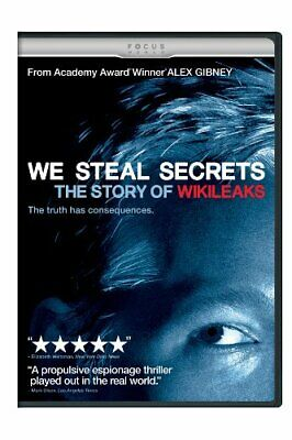 We Steal Secrets: The Story of Wikileaks [DVD] NEW!