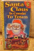 Santa Claus Is Coming to Town VHS