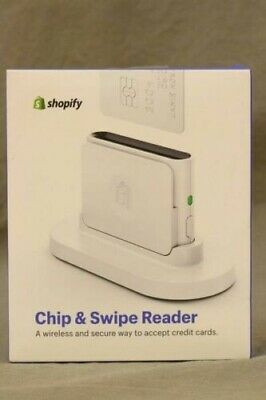 Sealed Brand New Shopify Chip And Swipe Credit Card Reader