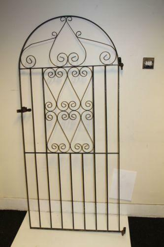 Wrought Iron Security Gate Ebay