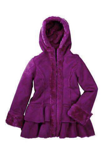 5b19ad35b Girls Shearling Coat