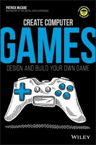 Computer Games - Create Computer Games By Patrick McCabe Paperback Brand New