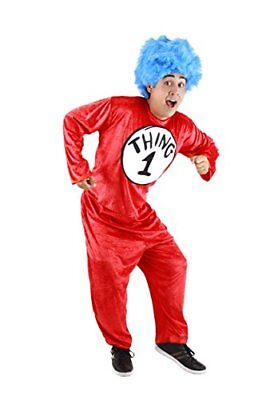 Dr. Seuss Thing 1 and Thing 2 Adult Costume (L/XL) by - Things 1 And 2 Costumes
