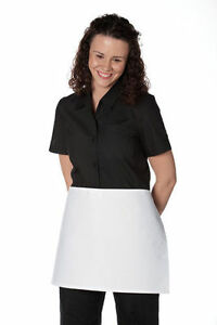 MEDICSTOX CHEF WAITRESS UNIFORMS COATS PANTS TOPS HAT APRON VEST