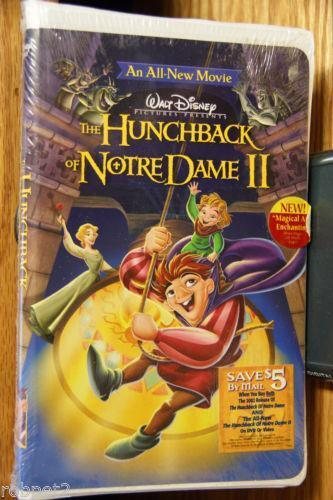 the hunchback of notre dame ii vhs ebay