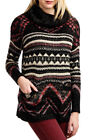 Lucky Brand Tunic Wool Blend Women's Sweaters