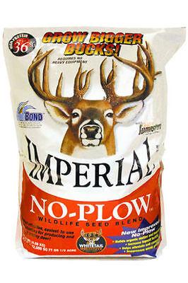 Deer & Turkey 4 lb IMPERIAL NO PLOW Seeds Food Plot CLOVER Whitetail Institute - Imperial Deer Food