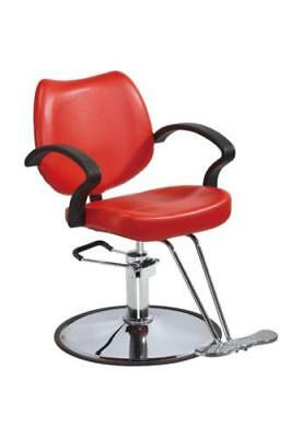 Haircut Hydraulic Barber Chair Styling Salon Beauty SPA Hair Cut Equipment Red + for sale  USA