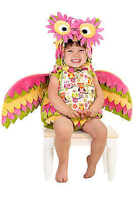 Princess Paradise Hootie The Owl Baby Infant Toddler Kids Child Rainbow Costume