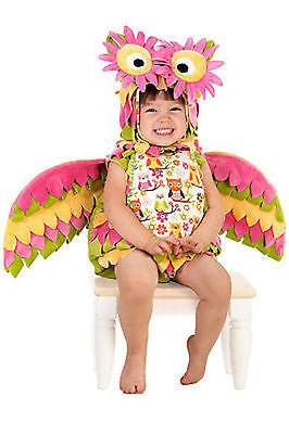 Hootie The Owl Baby Kleinkind Kinder Rainbow Kostüm (Kleinkind Owl Kostüm)