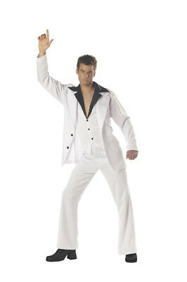 Saturday Night Fever Adult Mens Halloween Costume - Saturday Night Fever Costume