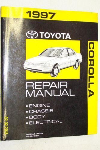 Toyota Corolla Repair Manual