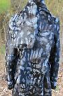 Fur Scarf Striped for Women