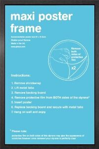 Wooden Maxi Poster Frame - 61x91.5cm / 24x36