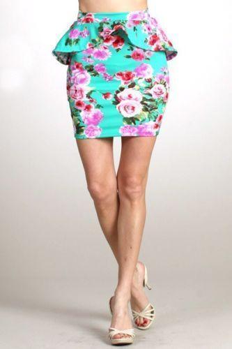 black mini pencil skirt ebay