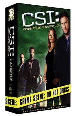 Csi  Crime Scene Investigation   The Com Dvd