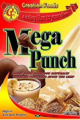 Creation Foods Jamaican Mega Punch 200g (Pack of 3)