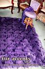 Purple Fur Rug