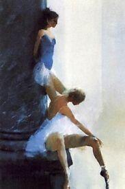 Framed print Ballet Dancers by Paul Freeman