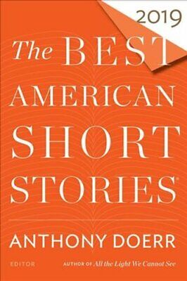 The Best American Short Stories 2019 by Anthony Doerr 9781328484246 | Brand