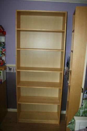 Ikea Bookcase Beech Ebay