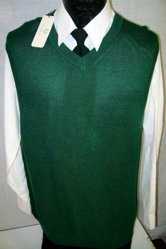 Mens V Neck Sweater Vest | eBay
