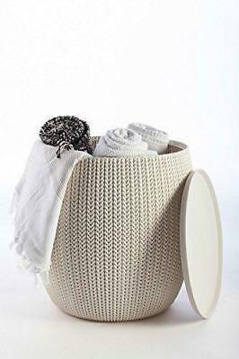 Keter Knit Outdoor/Indoor Cozy Table