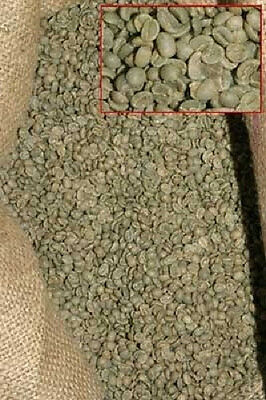 25 LBS. JAVA Landed estate GREEN COFFEE BEANS