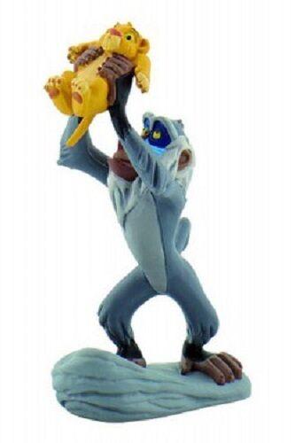 Figurine Walt DISNEY The Lion King Rafiki with Simba 10 cm new painted handmade