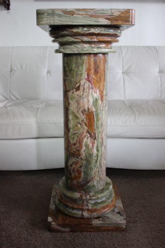 Marble Pedestal Antiques Ebay