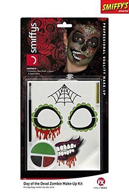Halloween Day of the Dead Zombie Makeup Kit - Halloween Day Makeup