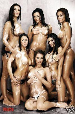 Poster NUTS-GIRLS - Shower Erotic ca60x90cm  NEU (56809)