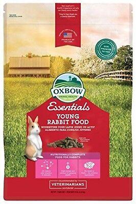 Oxbow Animal Health Bunny Basics Young Rabbit Fortified Small Animal Feeds, 10lb 10 Lb Rabbit Feed