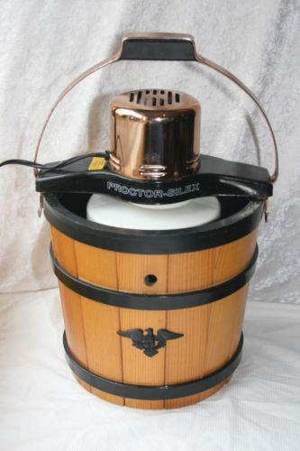 Proctor Silex Ice Cream Maker Ebay