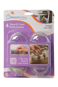 DreamBaby-Stove-Oven-Knob-Covers-4-PK-Child-Proof-Safety-Appliance-Cover-L141