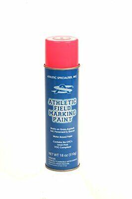 Athletic Specialties 20 oz. Field Marking Spray Striping Paint Can - Pink Athletic Field Marking Spray Paint